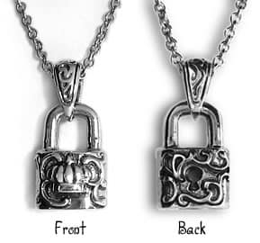 The Lover's Lock Amulet